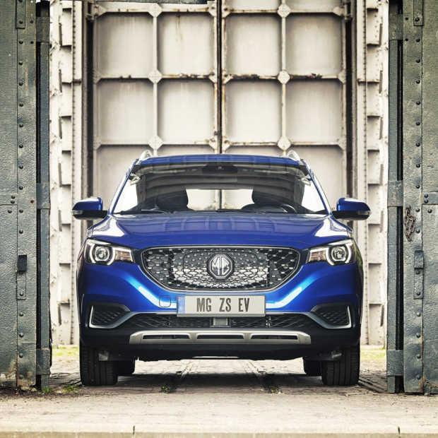 MG keert terug met 100% elektrische SUV