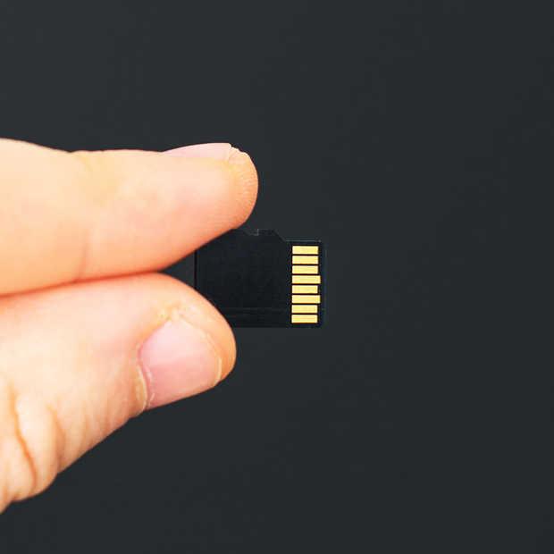 De 400GB MicroSD-kaart van SanDisk is 's werelds grootste