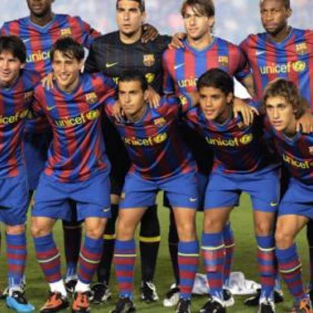 Microsoft Sponsor van FC Barcelona