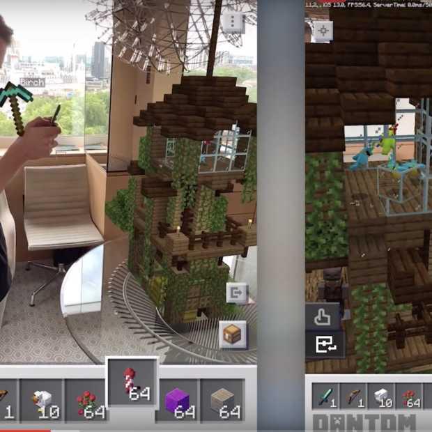 Minecraft Earth nu in Nederland beschikbaar