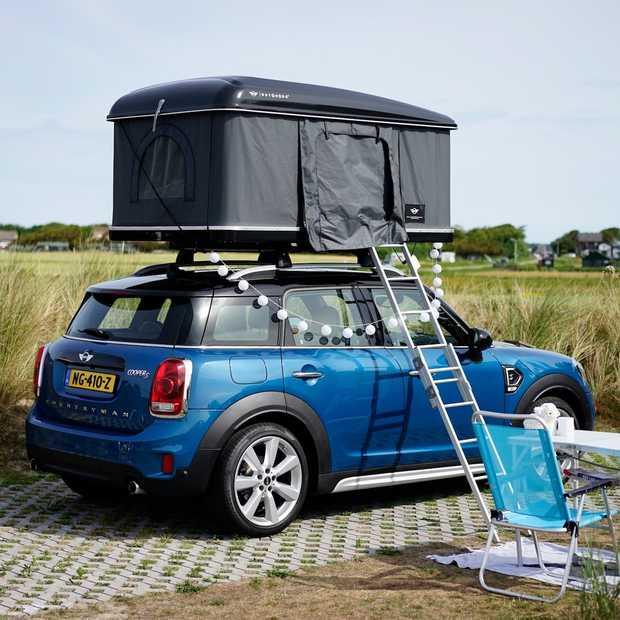 Een weekendje kamperen met de Mini Countryman mét daktent
