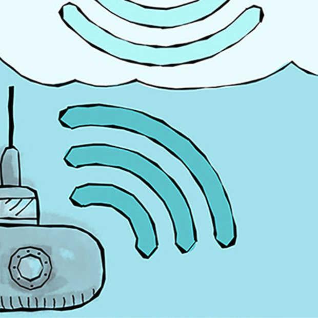 Onderzeeërs kunnen voortaan communiceren met vliegtuigen