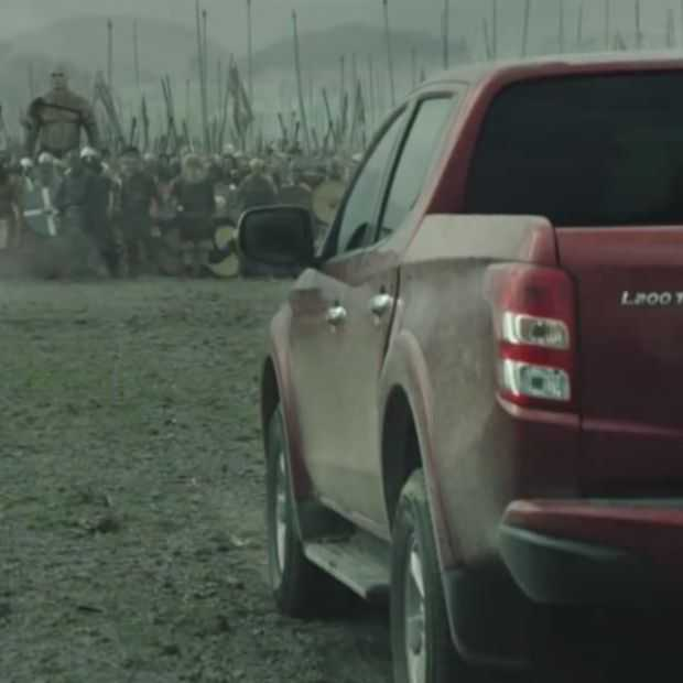Mitsubishi leent bij Mad Max en Lord of the Rings voor autoreclame