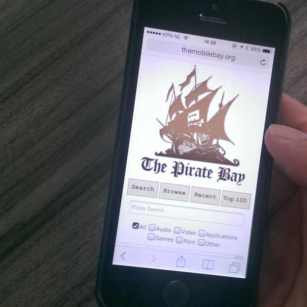 The Pirate Bay lanceert mobiele site