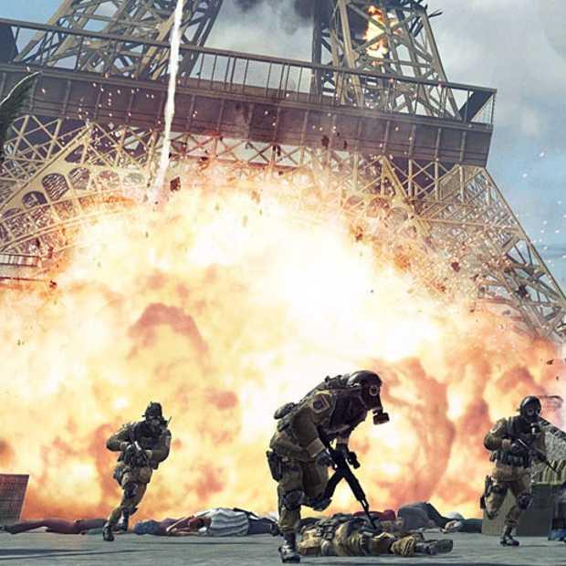 Modern Warfare 3 gaat over de top - en verder