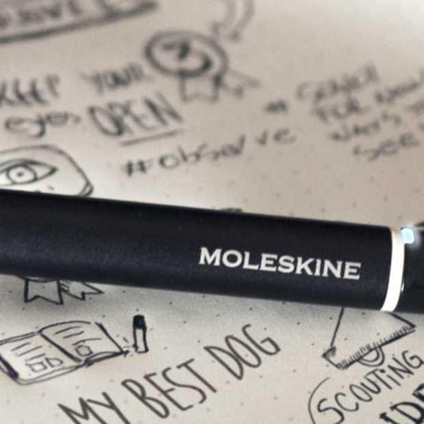 Moleskine Smart Writing Set digitaliseert je aantekeningen