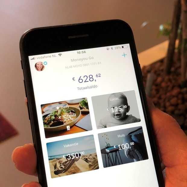 Moneyou Go: slimmer mobiel bankieren met je eigen potjes