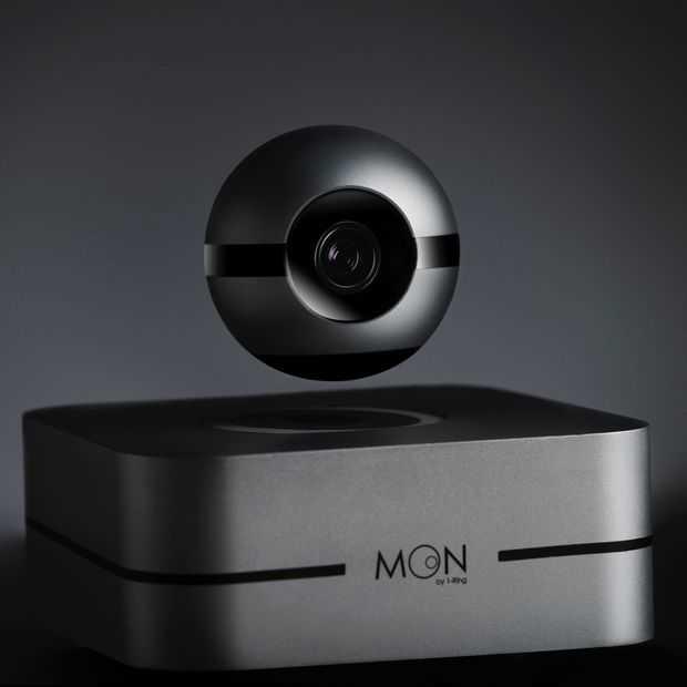 Moon: innovatief smart home systeem met zwevende camera