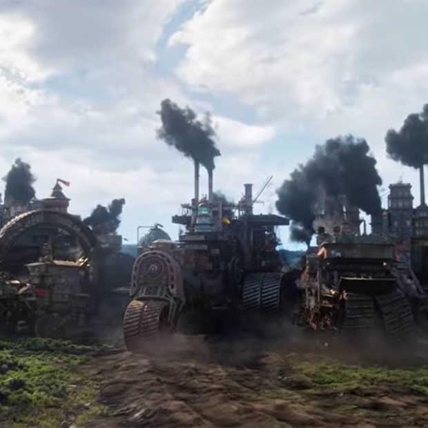 Nieuwe trailer Mortal Engines, vanaf 6 december in de bioscoop
