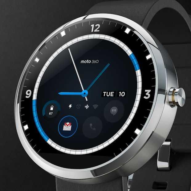 Motorola's smartwatch Moto 360 binnen enkele uren uitverkocht!