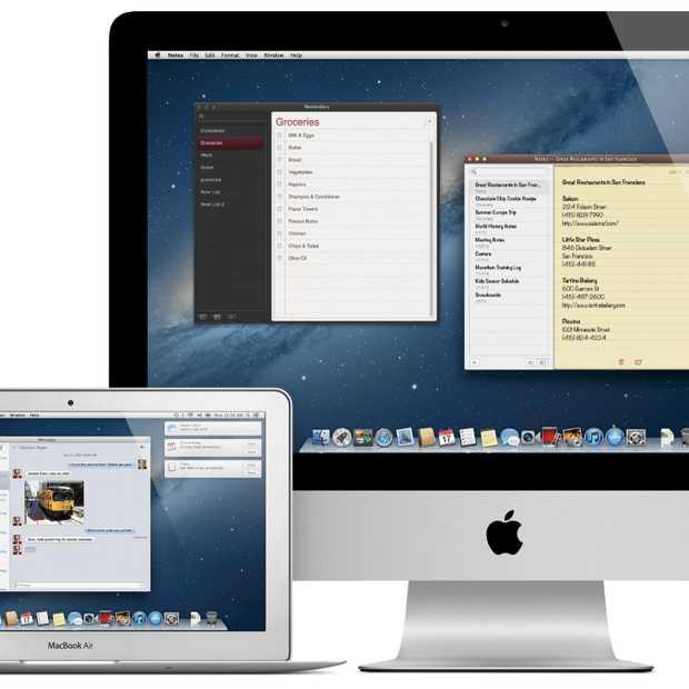 Mountain Lion volgende maand in de Mac App Store