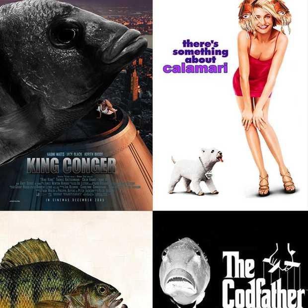 Infographic: 62 films met 'fishy' titels