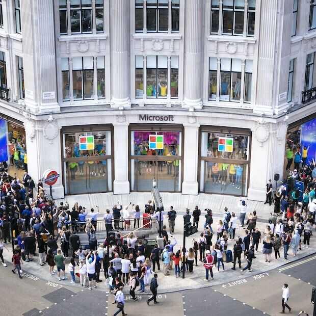 Microsoft hervat winkelactiviteiten in drie Experience Centers
