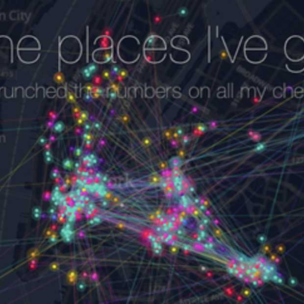 Must see: de Foursquare timemachine