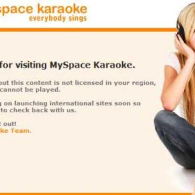 Myspace op zoek naar karaoke Elvis