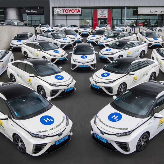 Gemeente Den Haag kiest voor eerste taxivloot op waterstof