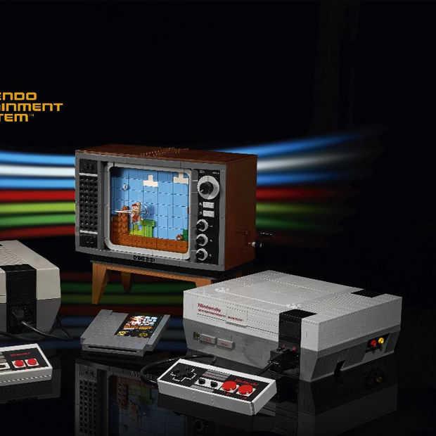 LEGO en Nintendo maken een Nintendo Entertainment System van LEGO