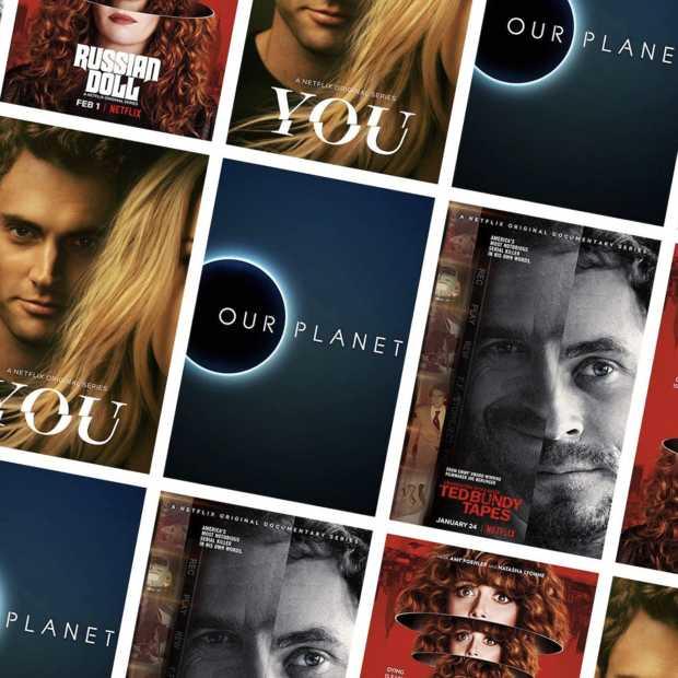 Netflix test functie met kijken naar een willekeurige aflevering