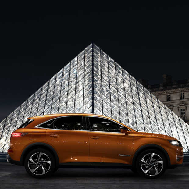 Wereldpremière DS 7 Crossback in Parijs
