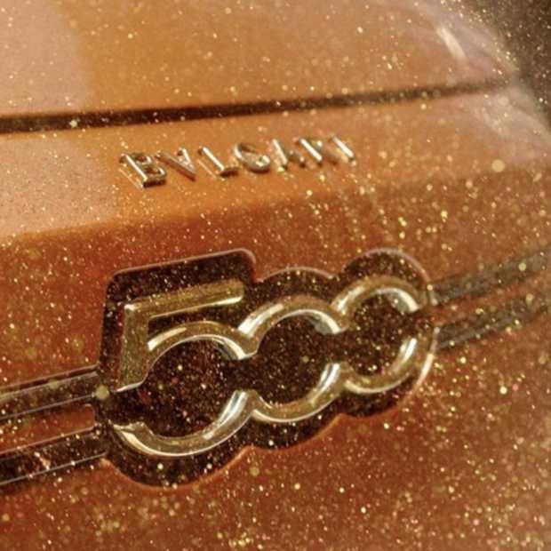 Drie exclusieve interpretaties van de New Fiat 500, door Armani, Bvlgari en Kartell