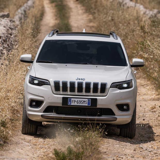 Nieuwe Jeep Cherokee, leuk voor de stad, maar nog leuker in de natuur