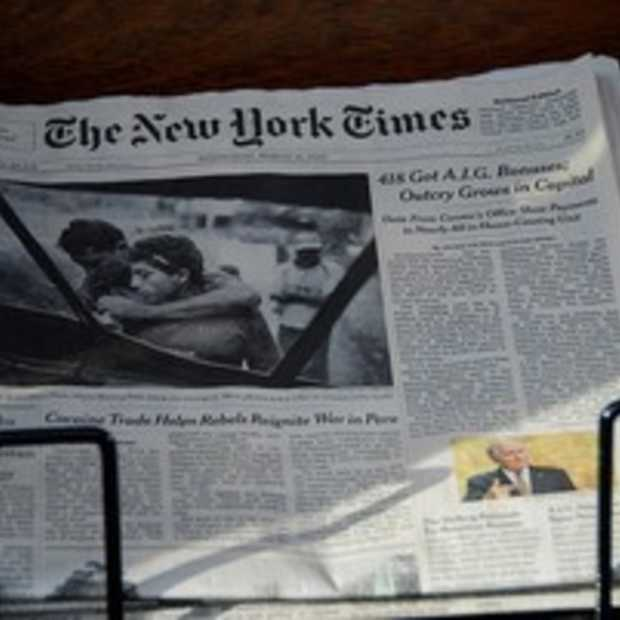 New York Times niet langer grootste online nieuwssite