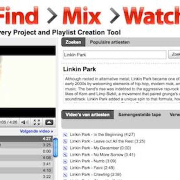 New: YouTube Music Discovery Project : Find, Mix, Watch