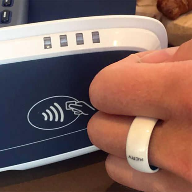Contactloos betalen met een ring of andere wearable