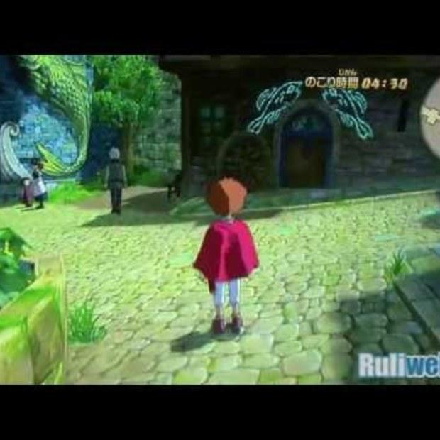 Ni no Kuni gameplay TGS 2011