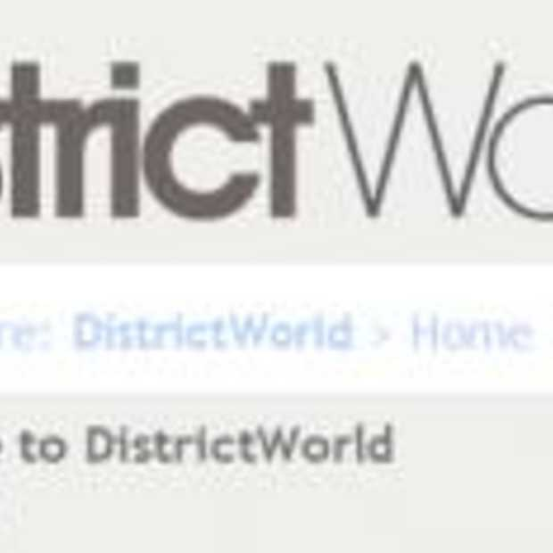 Nieuw social network District World live