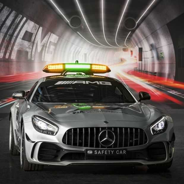 Dit is de nieuwe supersnelle Mercedes Safety Car voor de F1