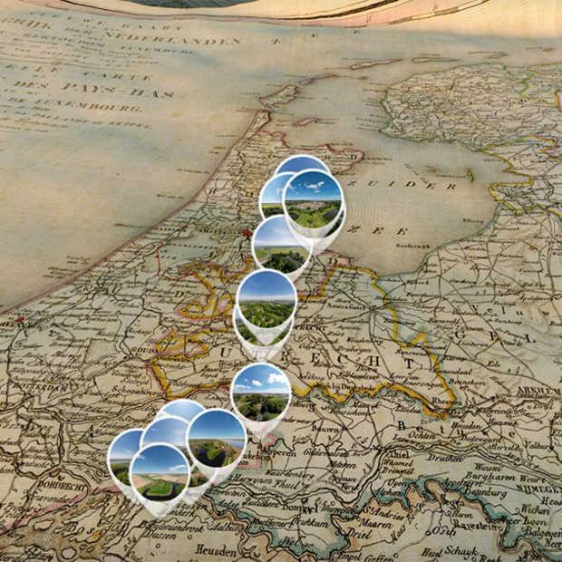 Nieuwe Hollandse Waterlinie vanuit de lucht in Virtual Reality te zien