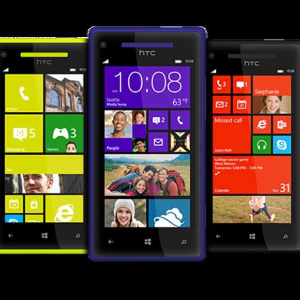 Nieuwe HTC Windows Phone 8 telefoons ogen geweldig