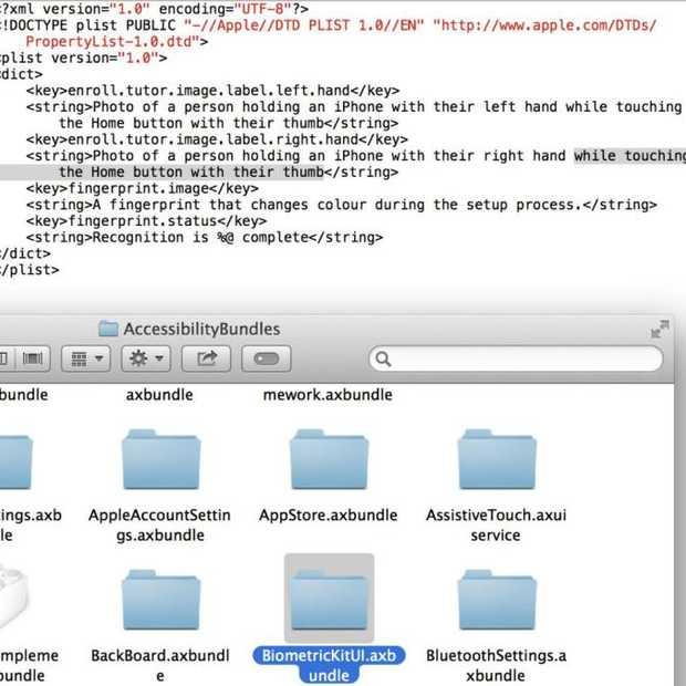 Nieuwe iOS 7 bèta toont hints naar vingerafdruksensor in nieuwe apparaten