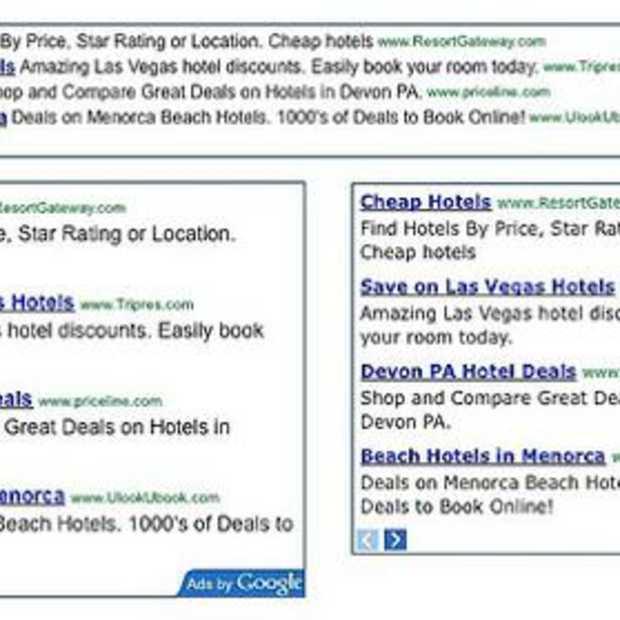 Nieuwe layout voor Google Adsense