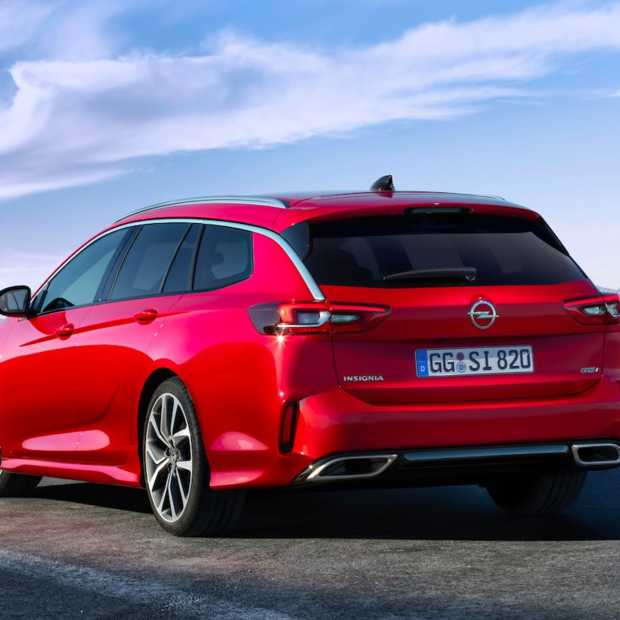 Nieuw topmodel van Opel gepresenteerd: Opel Insignia GSi