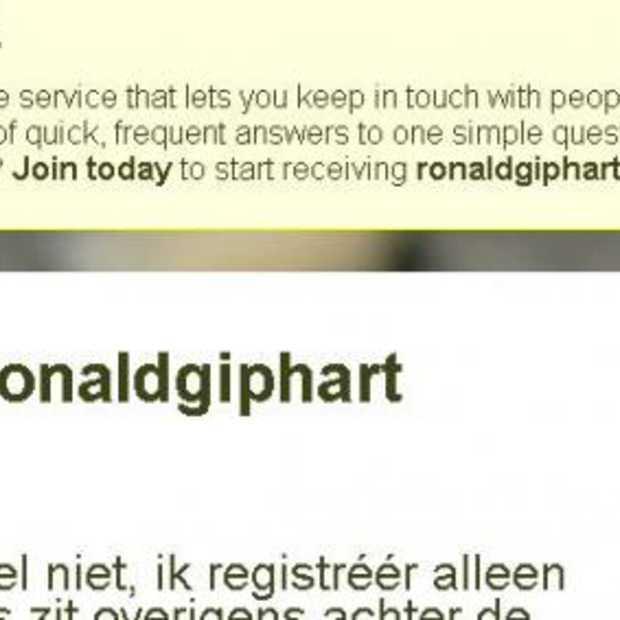 Nieuwe site en WIN 't nieuwe boek van @ronaldgiphart