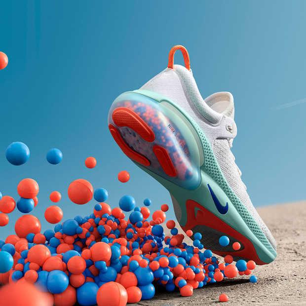 Nike lanceert de Joyride: nieuwe hardloopschoenen met innovatief dempingssysteem