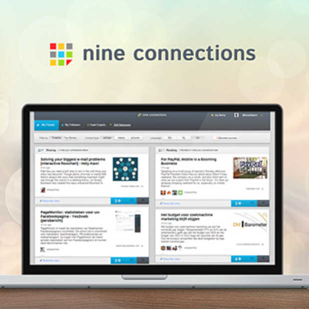 Nine connections lanceert crowdfundingproject 'Twitter voor journalisten'