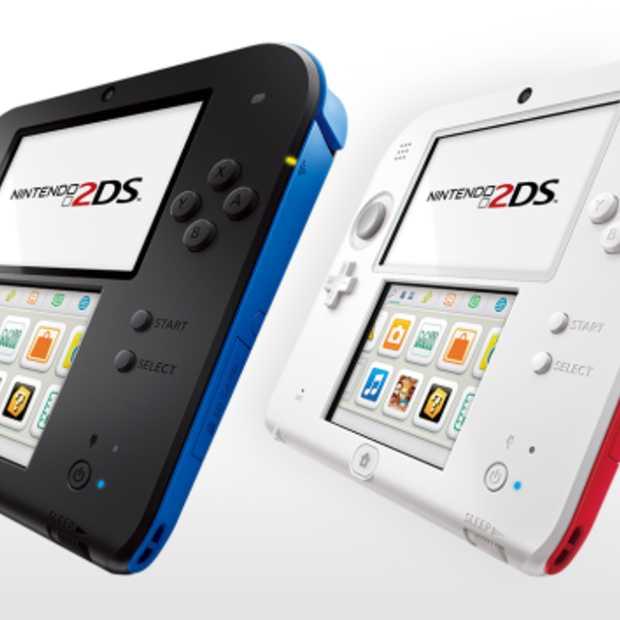 Nintendo kondigt na de 3DS... de 2DS aan!