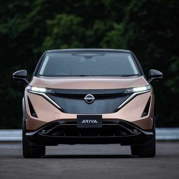 Nissan presenteert de eerste volledig elektrische crossover: de Nissan Ariya
