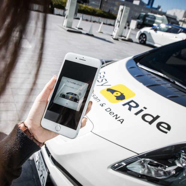 Nissan en DeNA starten praktijktest met robo-voertuigen