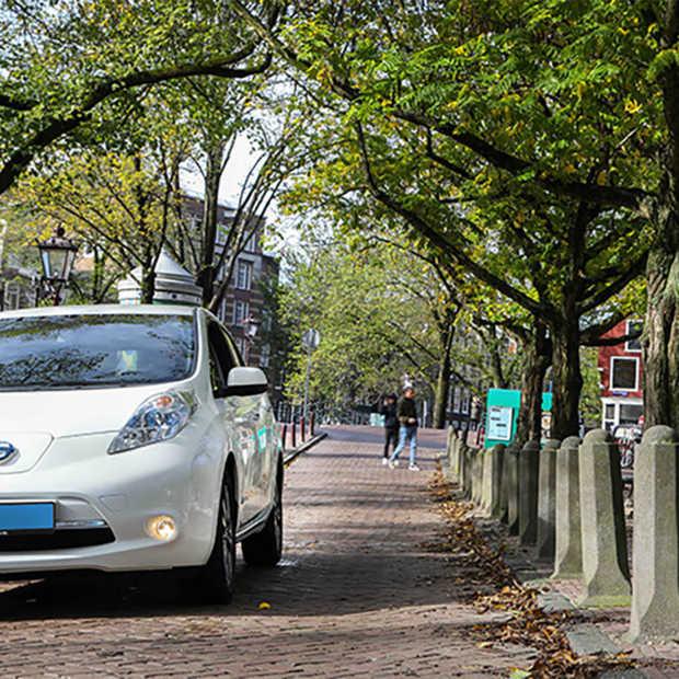 In Amsterdam gaan de eerste elektrische auto's van Uber vandaag de weg op