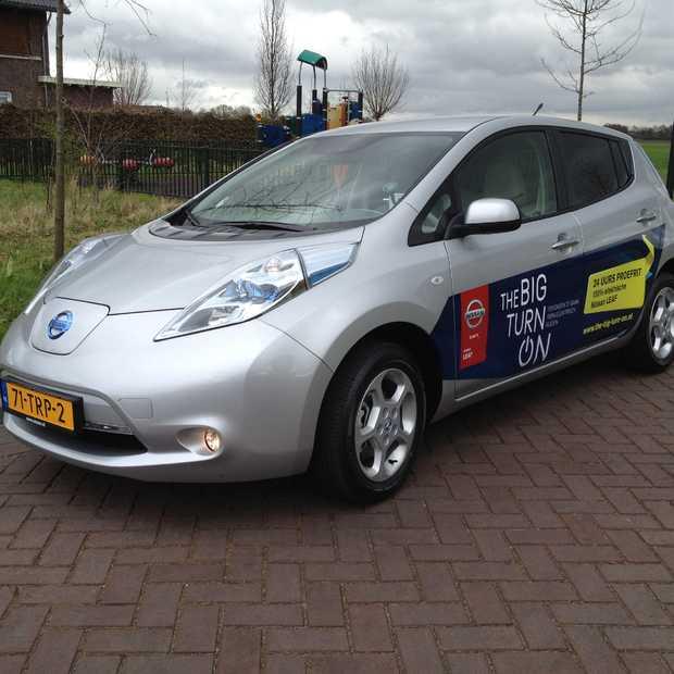 Nissan wil met 'The Big Turn On' elektrisch rijden op de kaart zetten #NISSANLEAFCAR20