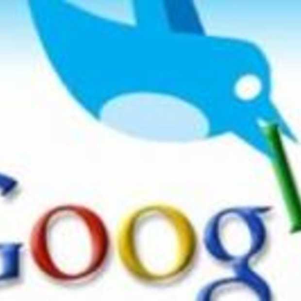 """""""No Google deal"""" voor Twitter"""