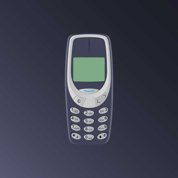 De Nokia 3310 komt terug dit jaar
