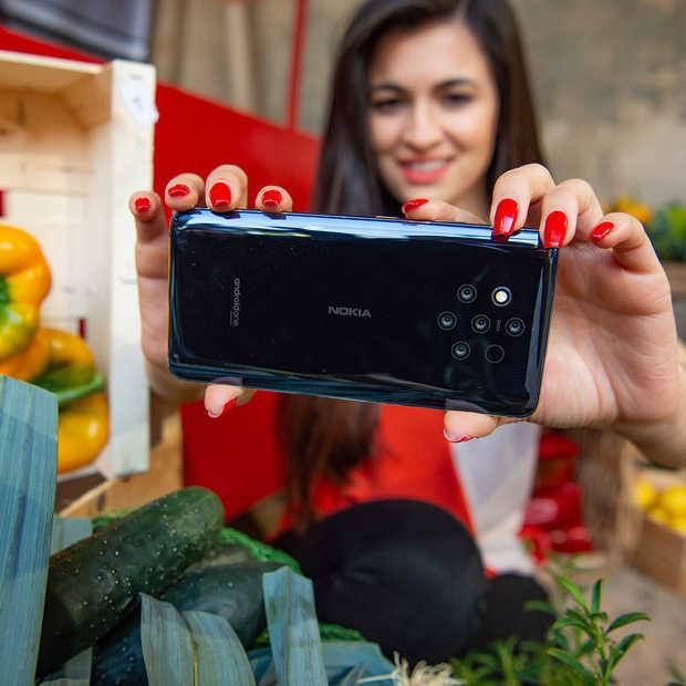 Nokia blaast PureView nieuw leven in met 5 camera's