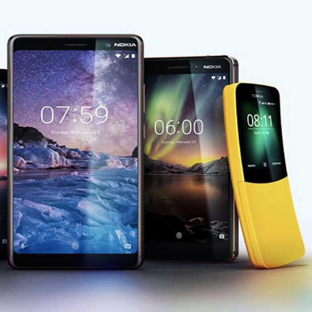 Nokia is terug en lanceert maar liefst 5 nieuwe smartphones