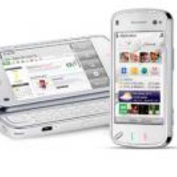 Nokia N97 N-serie met touchscreen