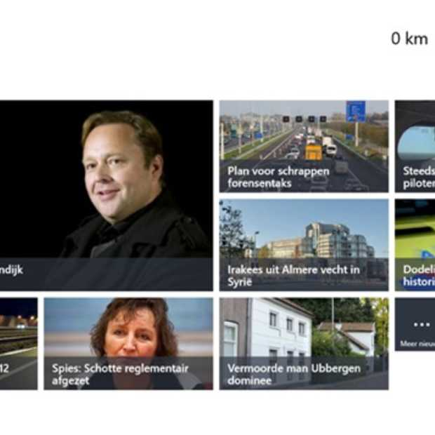 NOS ontwikkelt nieuws-app voor Windows 8